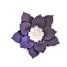 10CM Easy DIY Paper Flowers For Wedding Backdrop Decorations Paper Crafts Nursery Wall Deco Art Baby Shower Birthday Floral Deco cheap Future Fancy TY018 Artificial Flowers Hybrid Flower Head decoration flowers paper flowers scrapbooking decorations wedding 2019