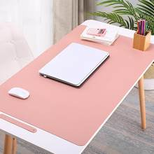 Anti-slip Table Cloth Waterproof PC Laptop Computer Mouse Pad Home Office Table Book Mat Easy To Storage(China)