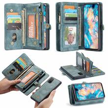 CaseMe Magnetic Wallet Case For Samsung Galaxy A71 A51 Flip Detachable  Leather Cover Credit card slot butterfly wallet leather case for samsung galaxy a71 4g cover luxury flip case