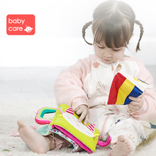 Babycare Animal Cloth Books Sound Infant Educational Early Rattle Toy Kids Newborn Bed Cognition Baby Fabric Book Toy