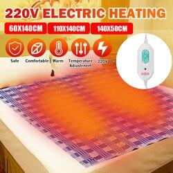 3 размера, 220 В, автоматическое одеяло с электрическим подогревом, нагревательный коврик, термостат, пледы, одеяло, зимняя кровать, матрас, те...