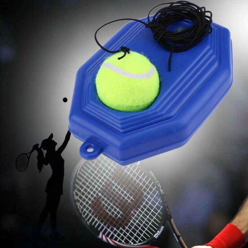 Tenis malzemeleri eğitmen kendini-eğitim yardımcıları süpürgelik oynatıcı uygulama aracı kaynağı elastik halat taban ortağı Sparring cihazı