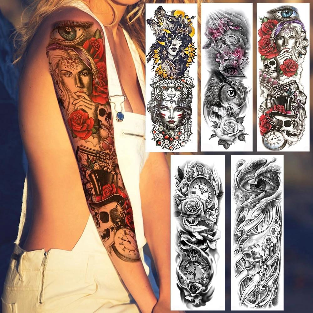 Bein frauen tattoos 35 Naughty