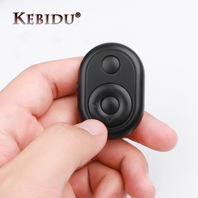 Hot Bluetooth Remote Camera Shutter Release Button for Selfie Camera Controller Bluetooth Remote Button for iPhone Android