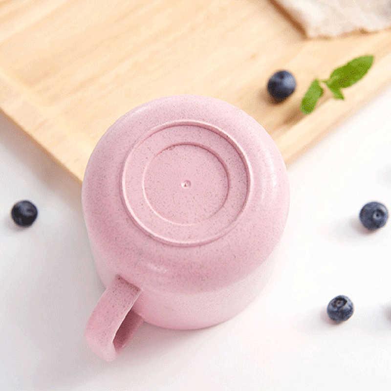 Taza de leche para niños y bebés con asa para el desayuno taza para beber en casa taza de entrenamiento de dibujos animados