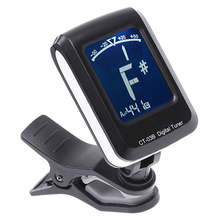 Mini Clip-on Tuner with Backlight for Guitar Bass Violin Ukraine