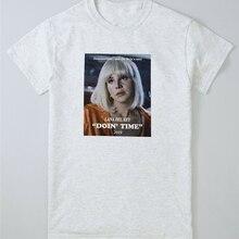 Lana haciendo tiempo Tops Tee T camisa Ultraviolence Rey Retro mujer gigante cartel Vintage camiseta tamaño grande ajax