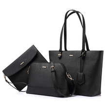 LOVEVOOK handbag women shoulder bags crossbody bag female large tote bag set 3 pcs luxury purse and clutch bags for women 2020