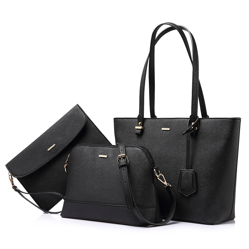 LOVEVOOK Handbag Women Shoulder Bags Designer Crossbody Bag Female Large Tote Bag Set Luxury Purse And Clutch 2019