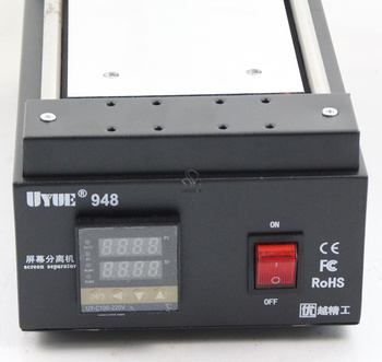 цена на UYUE 948 7 inch Black Metal Touch Glass Panel Screen Separator for Mobilephone LCD hand tool Repair Split Machine