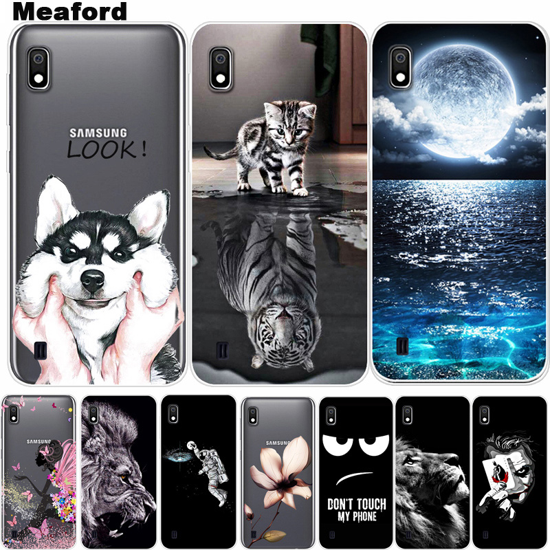 For <font><b>Funda</b></font> <font><b>Samsung</b></font> <font><b>A10</b></font> Case Soft TPU Silicone Cover Cool Cartoon Phone Case For <font><b>Samsung</b></font> Galaxy A10S <font><b>A10</b></font> S A 10 A105 A105F Cover image