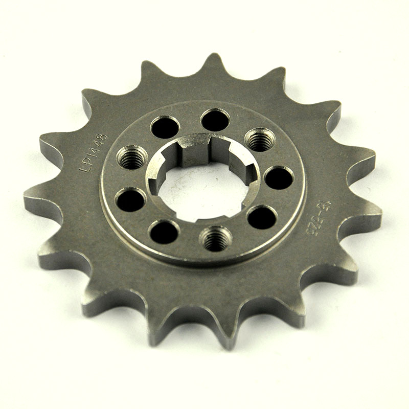 525 15T Motorcycle Front Sprocket for Suzuki Road <font><b>DR650</b></font> SE 1996-2016 XF650 Freewind 1997-2002 DR800 1994 image
