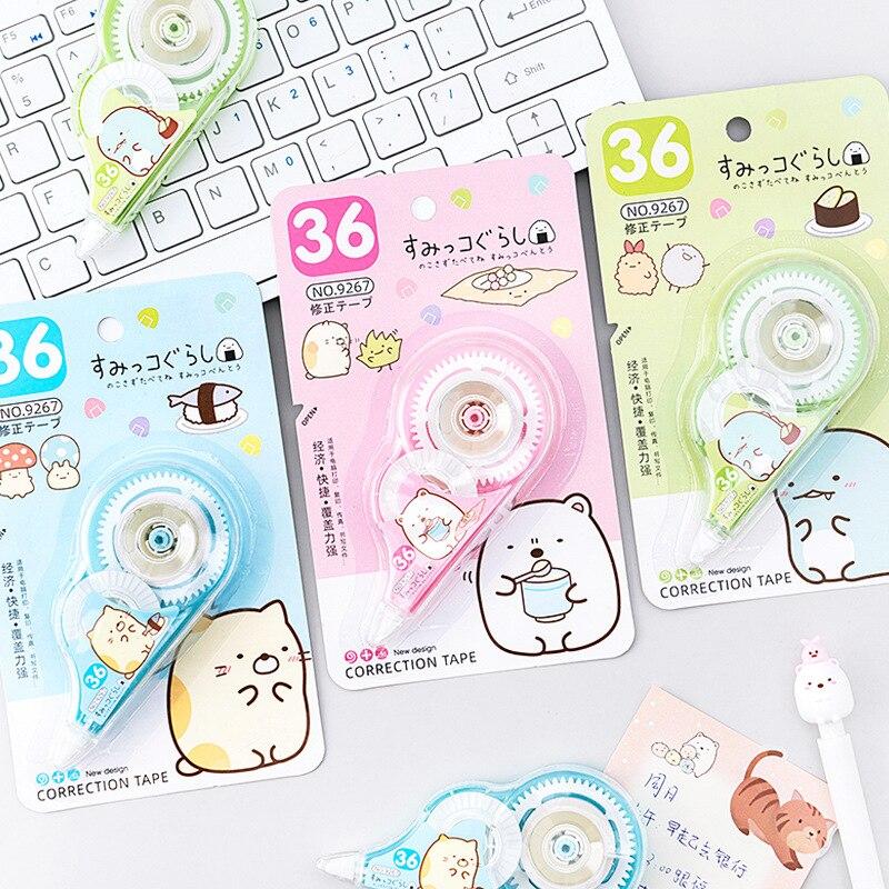 Cute Sumikko Gurashi Correction Tape Cartoon Decoration Stickers Promotional Gift Stationery School Office Supplies