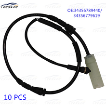 10pcs/lot Front Brake Pad Wear Sensor 34356789440 34356779619 for BMW 3 Series E82 E90 Warning Contact Disc