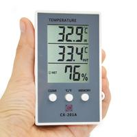 Promotion! Thermometer Hygrometer Measure Temperature Humidity Digital Lcd Meter Indoor Outdoor Weather Station Tester Celsius /|  -
