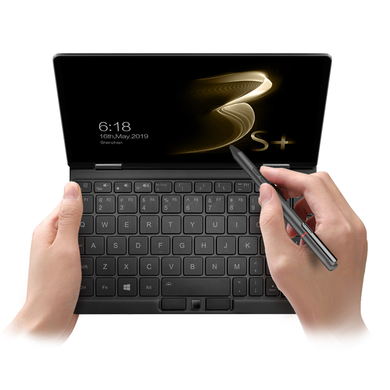 NEW One Netbook One Mix 3S Plus Notebook Yoga Pocket Laptop I3-10110Y 8GB 256GB Win 10 Mini Laptop With Original Stylus Notebook
