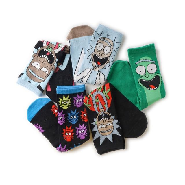 R&M Long Happy Socks