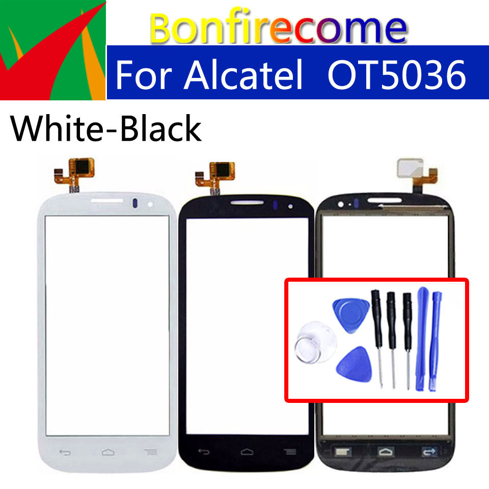 Touchscreen For <font><b>Alcatel</b></font> <font><b>One</b></font> <font><b>Touch</b></font> POP C5 OT5036 OT 5036 <font><b>5036D</b></font> 5037E <font><b>Touch</b></font> Screen Panel Sensor Digitizer Glass Replacement 4.5