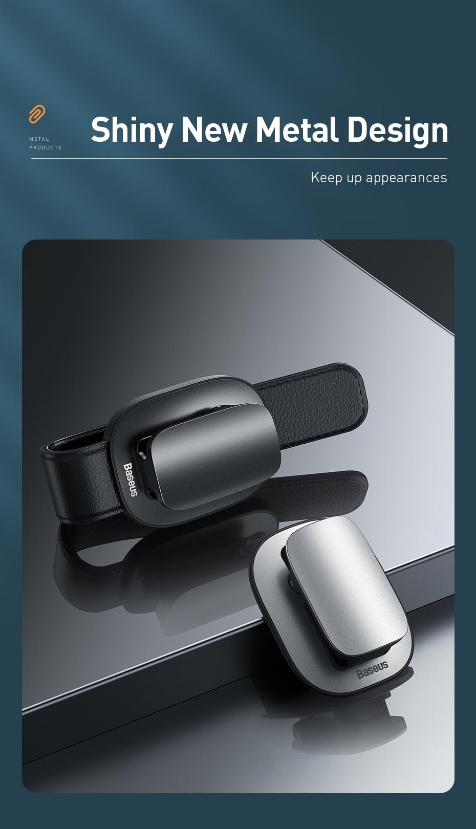 Baseus Platinum Vehicle Eyewear Clip 7