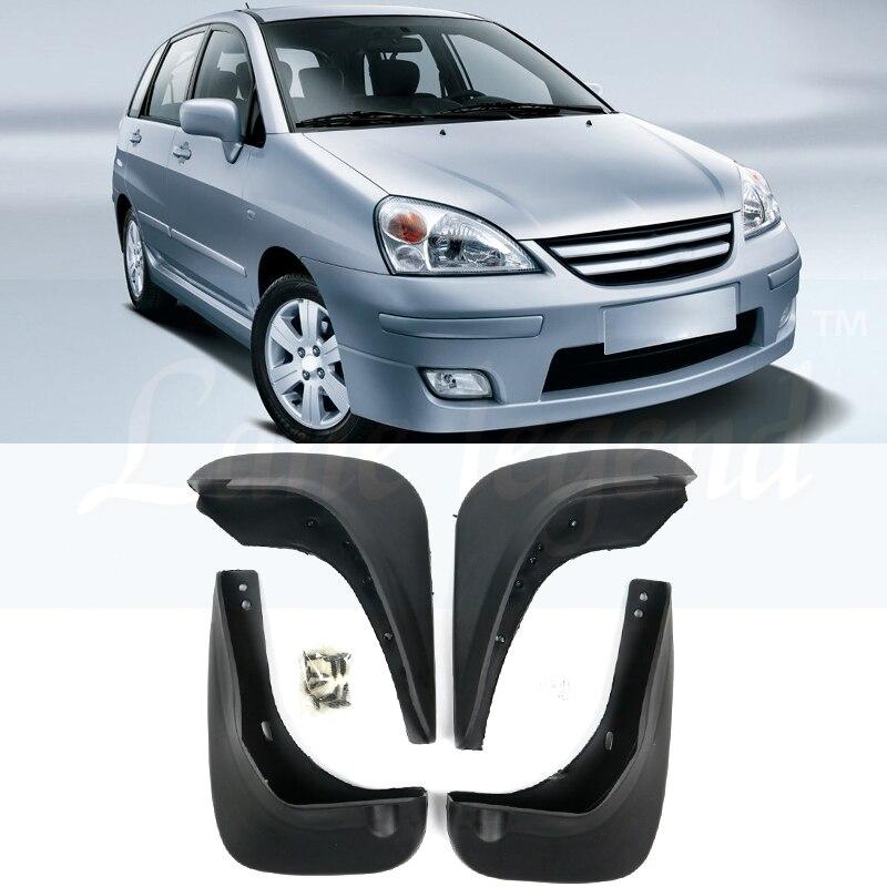 Автомобильный брызговик s для Suzuki Liana Aerio SX Baleno 2002-2007 брызговики брызговик крыло брызговиков 2003 2004 2005 2006