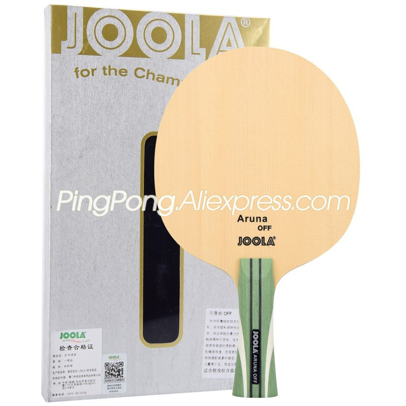Joola Aruna OFF (HINOKI Carbon, Aruna Quadri Model) JOOLA Table Tennis Blade / Racket Original JOOLA Ping Pong Bat / Paddle