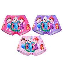 3 Pcs Lot Kids Cocomelon Underwear Baby Girls Panties Soft Boys Boxer Brief Children Cartoon Print Underpants Dropshipping 2 10Y