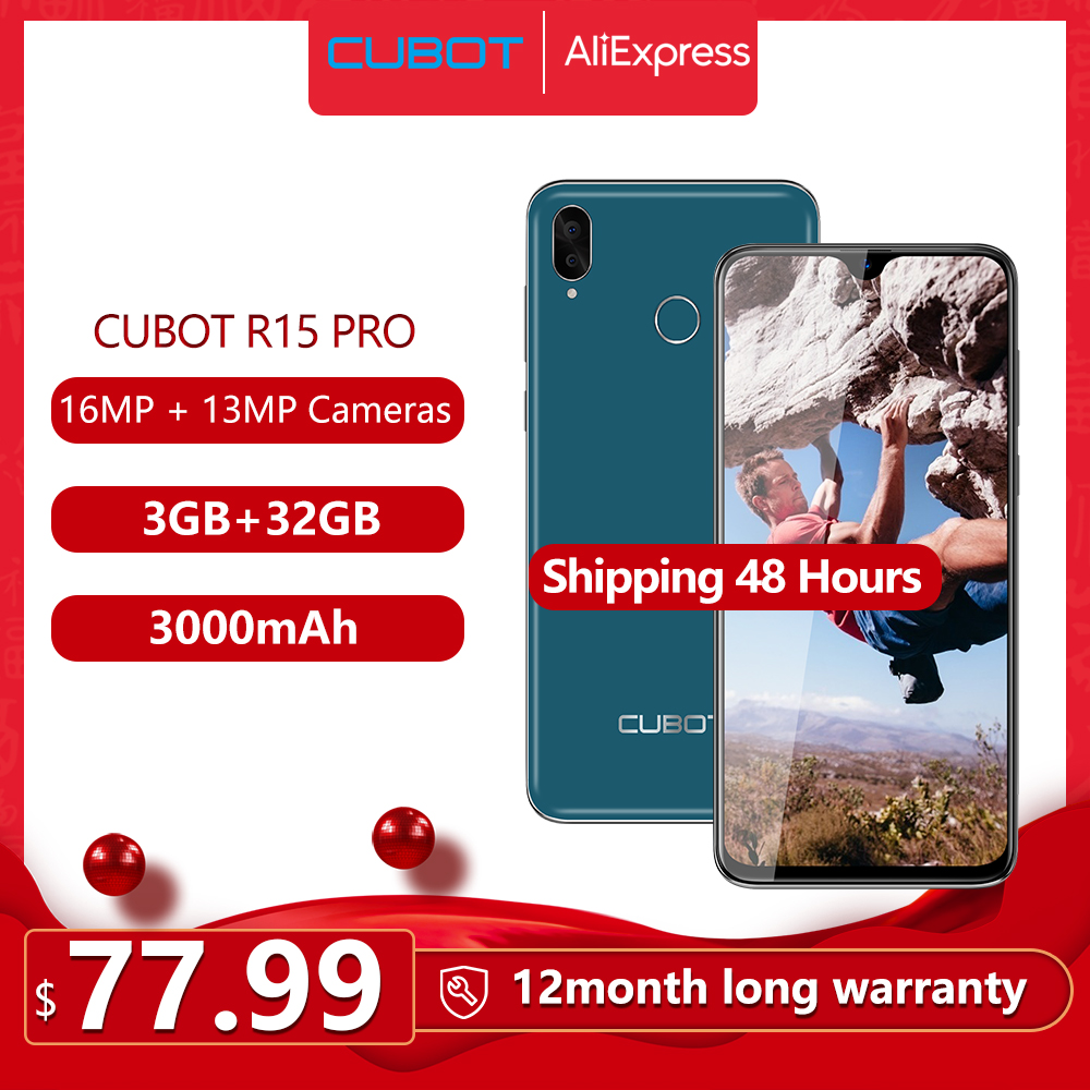 Cubot R15 Pro Smartphone 6.26