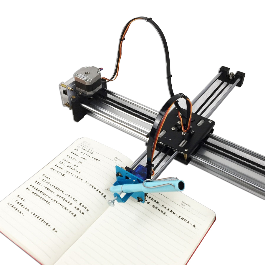 Diy xy plotter de alta precisão drawbot caneta desenho robô máquina cnc robô inteligente para desenho escrita