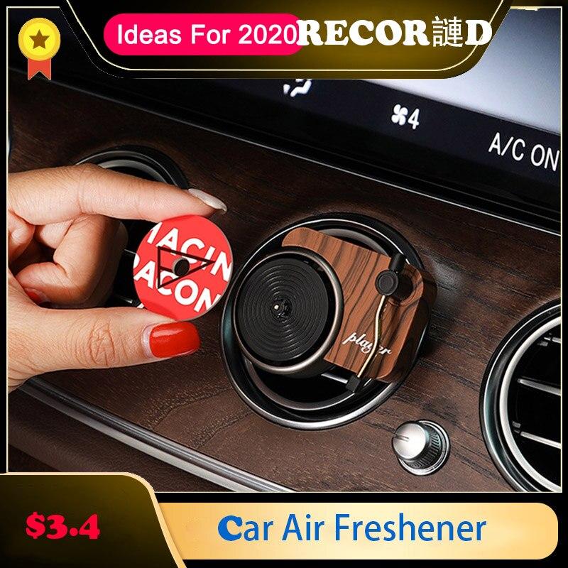 Проигрыватель для записи автомобильный освежитель воздуха ароматерапия автомобильный парфюмерный диффузор освежитель воздуха Украшение ...
