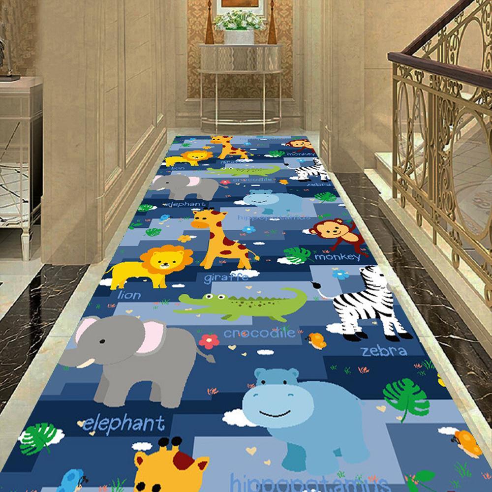 Cartoon Kids Bedroom Decor Carpet Doormat Dinosaur Animal Play Mat Balcony Corridor Area Rug Flannel Rug Carpets For Living Room Special Deal 56a4 Cicig