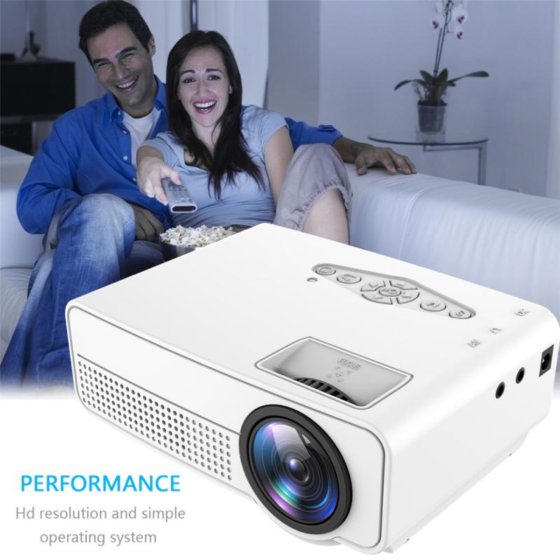 S280 Portable Projector Mini 3D HD LED Full-Hd Home Theater Cinema 1080P AV  USB Newest