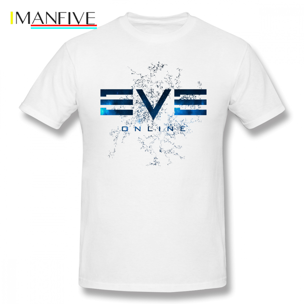 Eve Online T Shirt T-Shirt Streetwear Mens Tee 6xl Awesome Print 100 Cotton Short Sleeve Tshirt
