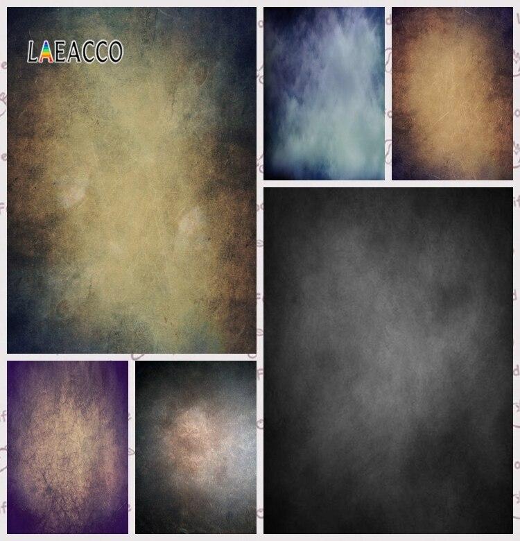 Laeacco gradiente sesión fotográfica oscuro retrato de pared Grunge fotografía fondos personalizados fondos fotográficos para estudio fotográfico