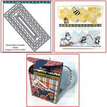 7 слоистых узких линий волнистые рамы соты край 3d рюкзак металлические