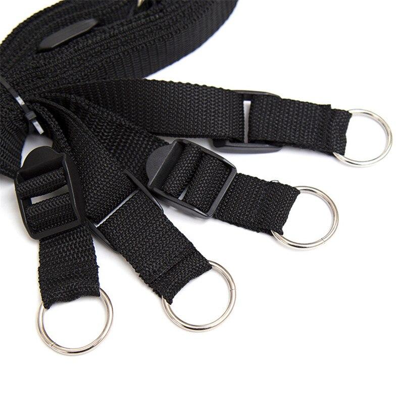 Beginner under bed restraints set bondage straps cuffs couples sex bdsm kit toy