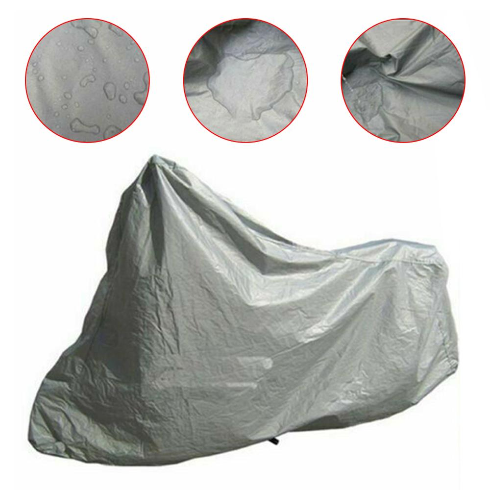Free Shipping Dust Proof UV Sun Rain Snow Indoor Outdoor Full Motorcycle Cover Anti Protective Motors Scooter Bike Covers Coats