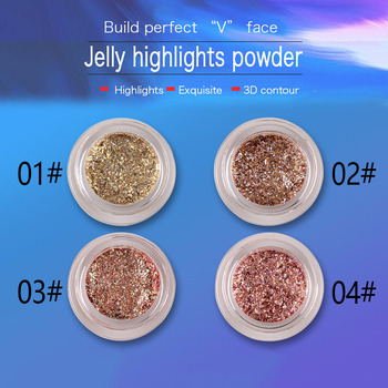 Nowy 1 sztuk Eyeshadow Glitter Pigment Shimmer Bling makijaż oczu uroda dla kobiet Lady SCI88 tanie i dobre opinie CHINA 169535 Luminous Glitter Radiant Merman shimmer powder 1 pc