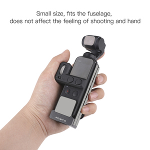 Image 5 - Osmo Pocket Case Aluminum Frame Pocket Mount Heat Dissipation Housing Shell Protective Cover For DJI Osmo Pocket Accessories