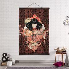 Настенные художественные декорации холст постеры и принты настенные