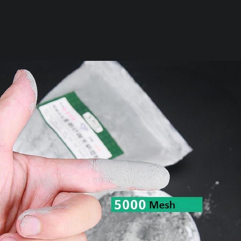 Carboneto de Silício Máquina de Jateamento de Areia de Pedra de Polimento de Precisão para Óculos de Ferragem Lâmpadas de Vidro de Polimento para Óculos Ferragem 4000-8000mesh 400g de