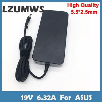 LZUMWS 19V 6 32A 5 5*2 5mm 120W zasilacz do laptopa Notbook zasilacz do toshiba ACER Asus N550 K53 N750 N500 N56V N53S G50 N55 tanie i dobre opinie CN (pochodzenie) 19 v Dla asus SA-1205525 black Tablet Charger For ASUS Portable Charger For ASUS Portable Adapter For ASUS