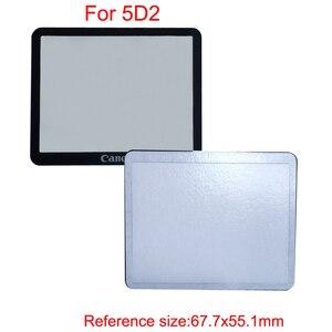 Image 5 - 10pcs חיצוני חיצוני LCD מסך מגן חלקי תיקון עבור Canon 5D 5D2 6D 40D 50D 60D 400D 450D 500D 550D 600D 1000D1100D SLR