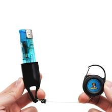 Fashion Lighter Pendant Protective-Cover Key-Chain Silicone-Sets 1pcs Random-Color of