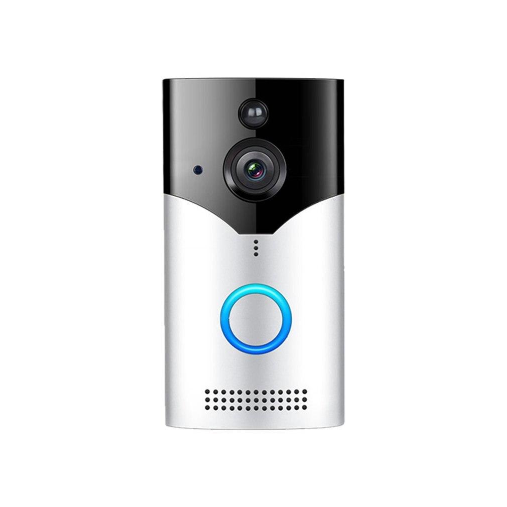 Home Wireless Wifi Visual Cat Eye Doorbell Intelligent Voice Intercom Video Infrared Anti-Theft Monitoring Doorbell
