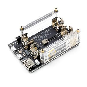 Image 2 - Neue UPS 18650 Power Extension Board Mit RTC, Messung, 5V Ausgang Serial Port Für Raspberry pi