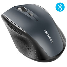 TeckNet Bluetooth Wireless Mouse 2.4g 2600/2000/1600/1200/800 DPI For Laptop Notebook PC Computer(China)