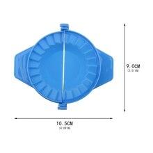 Разные цвета, 1 шт., инструменты для моделирования пельменей, кухонная Волшебная креативная ручная упаковочная машина, пищевая пластиковая щепотка