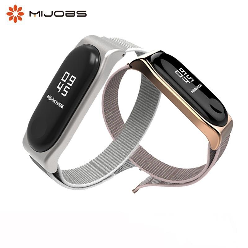 Mi Band 4 Nylon Watch Strap Miband 3 Bracelet Wristband Smart Band Accessories Mi4 Nfc  Pulseira  Sport Wrist Replace Strap