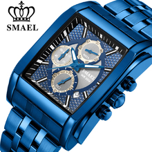 SMAEL Band Quartz Men Watch Genuine Stainless Business Watches