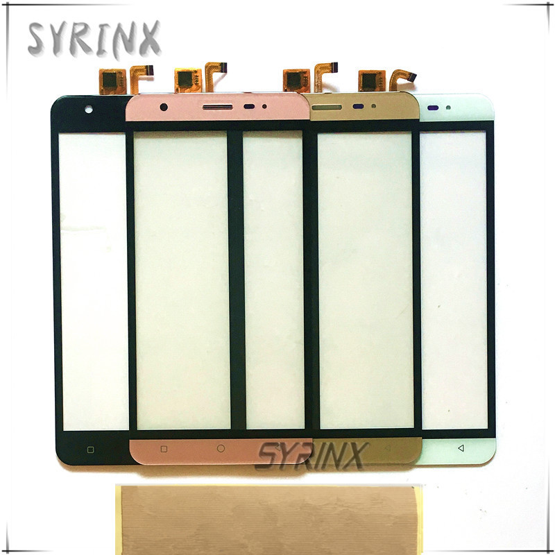 Syrinx Free Tape Touch Panel Touchscreen Sensor For Vertex Impress Eagle 3g 4g Touch Screen Digitizer Front Glass